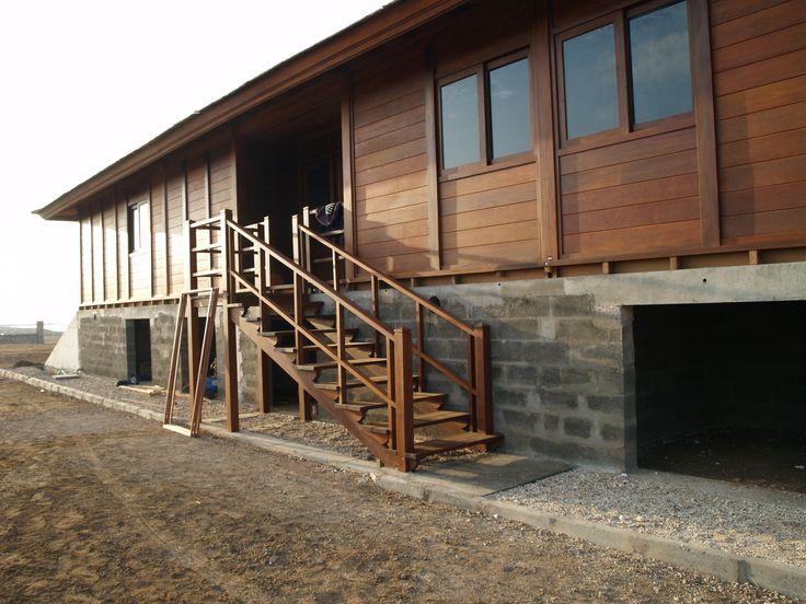 réalisation villa en kit de 160m² sur vide sanitaire béton Maison