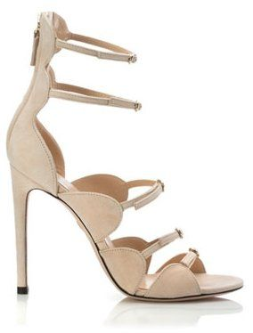 Pin for Later: Your Ultimate Guide to Fall's Biggest Shoe Trends  Giambattista Valli Multi-Strap Suede Sandal ($900)