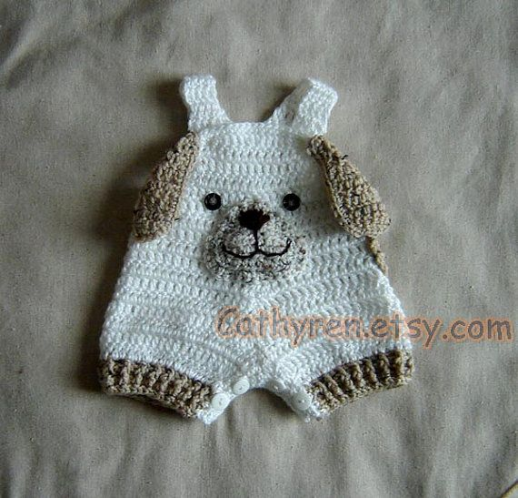 Bebé cachorro general chaparritos Shortall por CathyrenDesigns