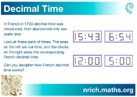 Decimal Time Poster icon