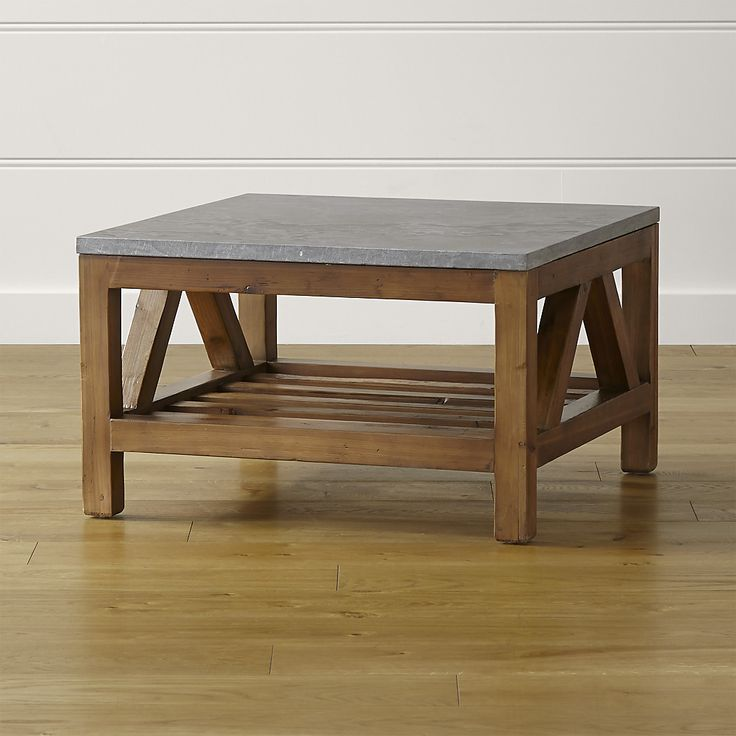Bluestone Square Coffee Table Squares Crate And Barrel