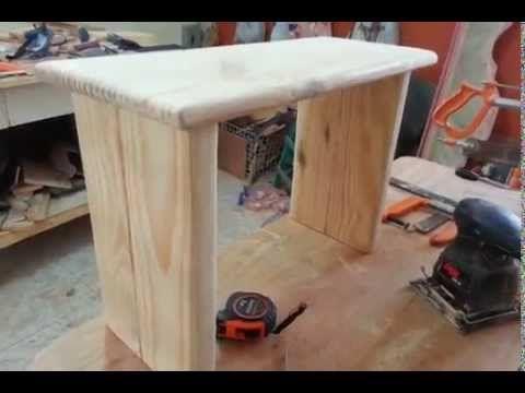 Como hacer un banco para sentarse de madera con rocas que no pesen muchsimo y que sean muy - Como saber si una casa es del banco ...