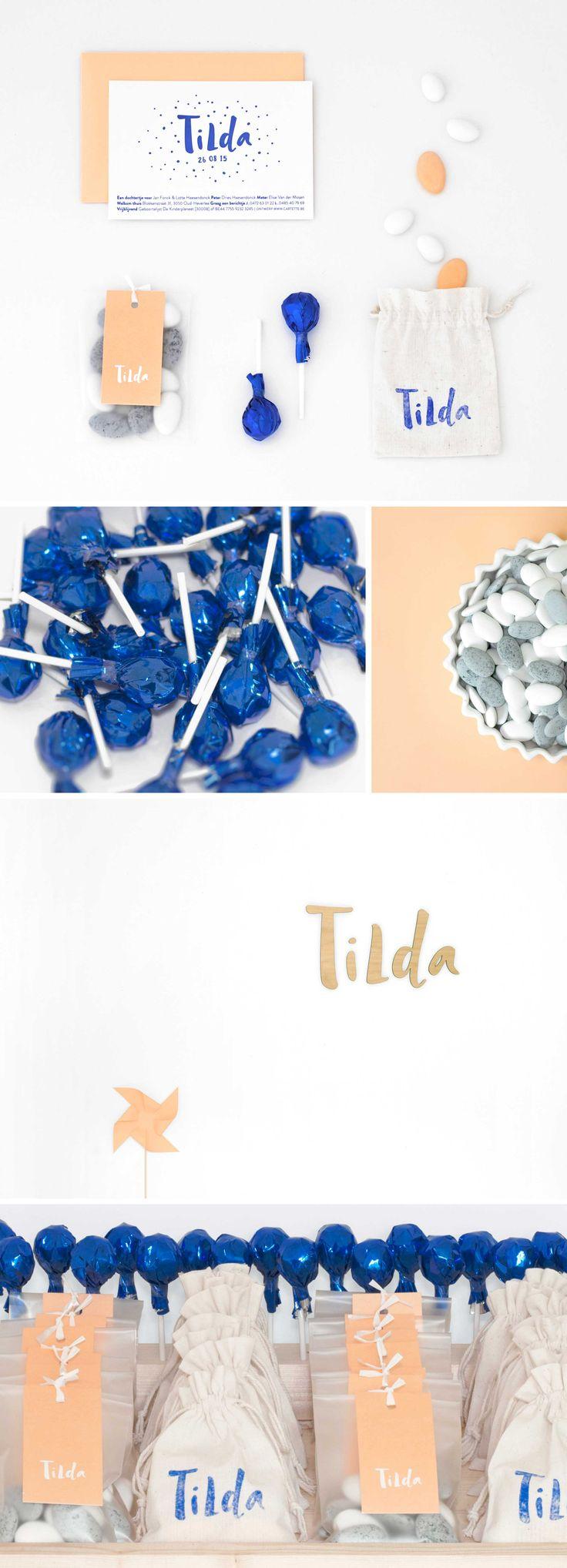 Birth announcement Tilda