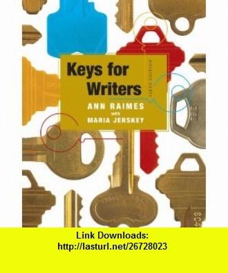 8 best torrent book images on pinterest pdf tutorials and astronomy keys for writersann raimes maria jerskey fandeluxe Choice Image
