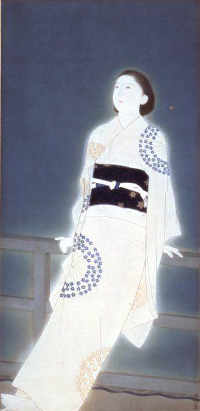 Kitano Tsunetomi(1880〜1947)  「星」