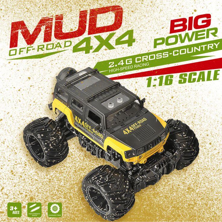 $61.86 - Awesome GizmoVine RC Car RC Dirt Bike 2.4Ghz 1/16 2 Wheel Drive Rock Crawler Rally Car 4x4 Motors Bigfoot car Off-Road Vehicle Toys - Buy it Now!