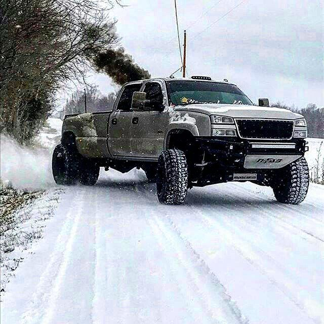 Jacked Up Muscle Cars >> #Repost @truckindustry @1_nasti_max with the badass Chevy dually! #Chevy #silverado #duramax # ...