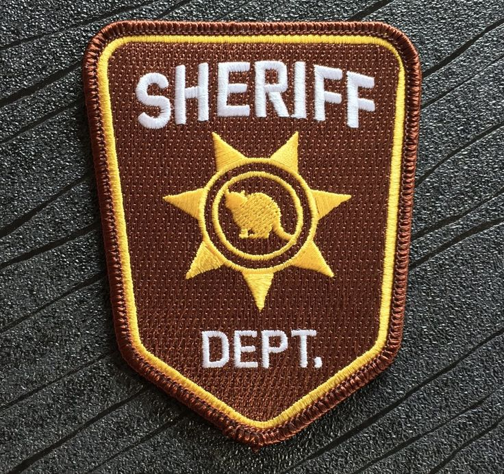 Resident Evil 2 Remake Arklay County Sheriff Iron on Patch (100mm x 80mm)