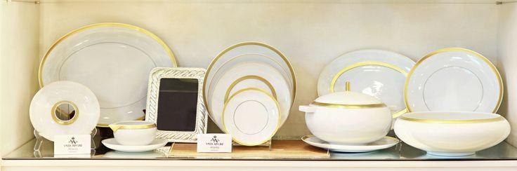 Vajillas, bandejas juego de vajilla, Vista Alegre, accesorios, en Home Gallery.