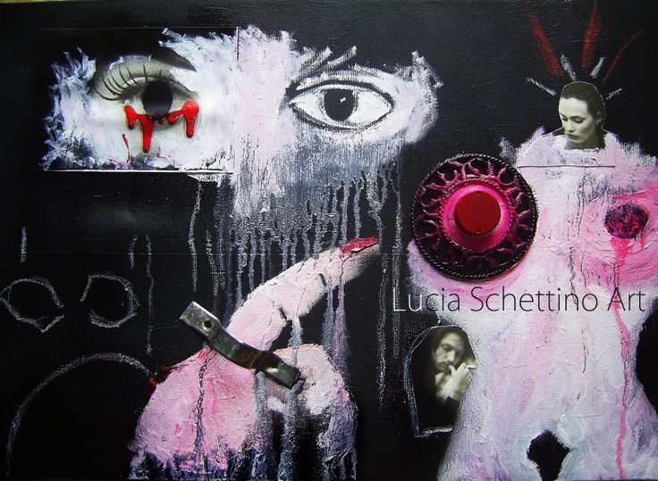"""unbridled desires"" oil on canvas"