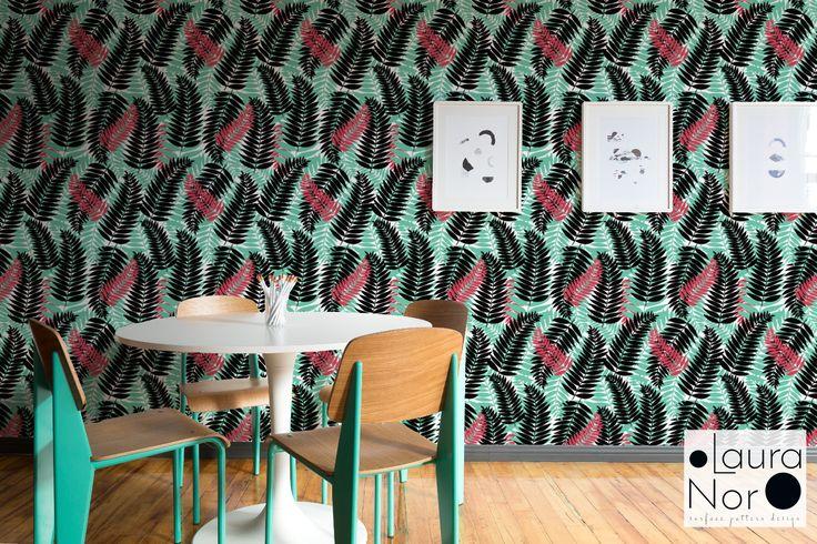 "Popatrz na mój projekt w @Behance: ""Ferns and Colorful Leaves-surface pattern design"" https://www.behance.net/gallery/54283423/Ferns-and-Colorful-Leaves-surface-pattern-design"