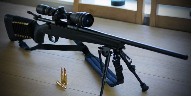 Remington 783 .308 bolt action, Hawke Sport HD 3-9x40 AO scope and bipod.