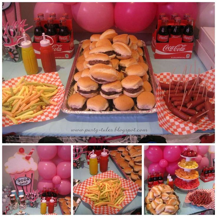 Sock Hop 50'S Theme diner Birthday Party Ideas | Photo 14 of 21 | Catch My Party