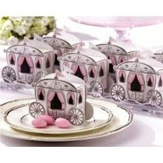 Enchanted Carriage Favour Box