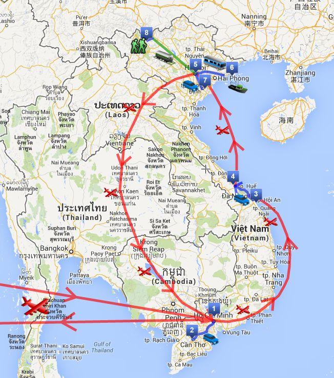 [Il mio itinerario di due settimane in Vietnam] Eccoci con un bel post pratico per organizzare il vostro viaggio di due settimane in Vietnam.  L'ho scritto pensando a tutte quelle informazioni che avrei voluto trovare io mentre lo stavo organizzando (e che non ho trovato). In questo post trovate l'itinerario completo e anche diviso per aree (sud, centro, nord) e la descrizione delle nostre giornate.