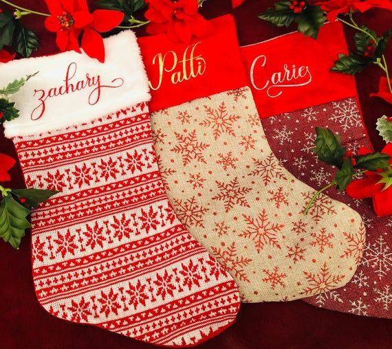 Personalized Christmas Stockings Family Christmas Stockings Christmas Stockings Custom Christmas Stockings Mantle Christmas Stockings Family Christmas Stockings