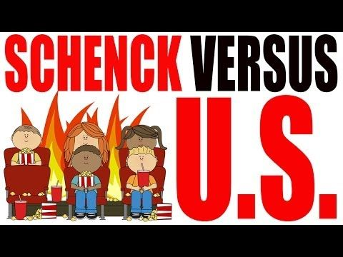 Schenck vs United States Explained in 5 Minutes: US History Review - YouTube
