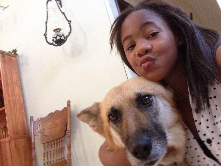 Just with my puppy Sasha #spca #dog