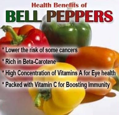 Do you eat Bell Peppers? Here's why you should... http://healthandwellnessdigest.com/bell-peppers/