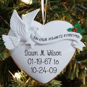 42 best Christmas Memorial Ornaments - Sympathy Gift for Men ...