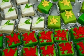 Cakes for St David's day