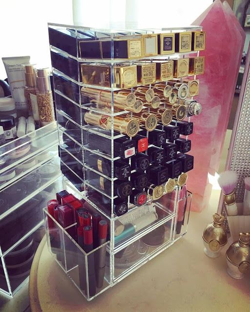 Natasha Sahashi's Style Blog What Makes You Happy ?!  : LUX BOX Spinning Lipstick Stand ( International Ve...