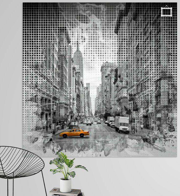 Graphic Art NEW YORK CITY 5th Avenue von Melanie Viola  #wandbild #wohnen #kaufen #Fotografie #Sehenswürdigkeiten #Ort #Wahrzeichen  #Architektur #Fotografien #Reise #USA #NewYork #Manhattan #FifthAvenue #Straßenszene #Verkehr #Kunst #Grafikkunst #dekorativ #home #decor #shopping #wallart #prints #photography #sights #landmarks #city #cityscape #architecture #travelling #shopping #art #graphicart #modern #decorative #streetscene #traffic