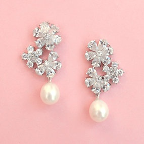 mix the pearls and diamonds