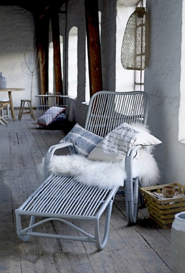 painted rattan