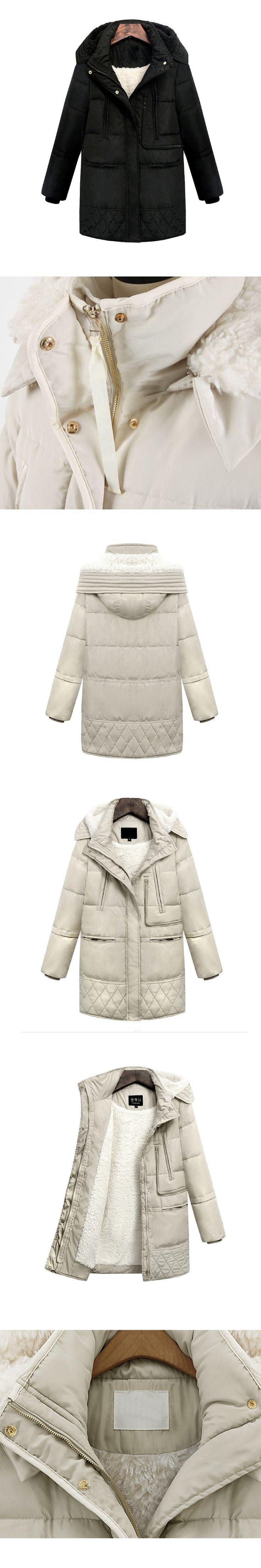 Hot Sale Autumn And Winter Womens Long Duck Down Coats Jacket Wool Goose Light Feather Snow Coat Plus Size Parkas Windbreaker