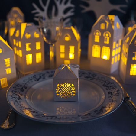 Table village de Noel   Déco de Noël