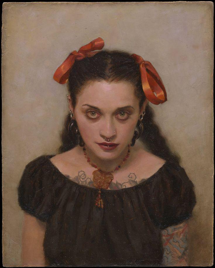 Portrait of Chantal Menard by Sean Cheetham