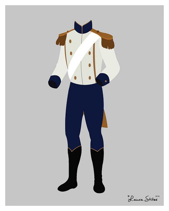 Disneys Prinz Eric formale Poster/Print von LauraStitesArt auf Etsy