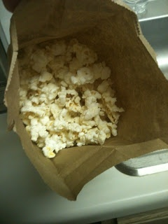 Nerdy Sarah: Brown Bag Popcorn