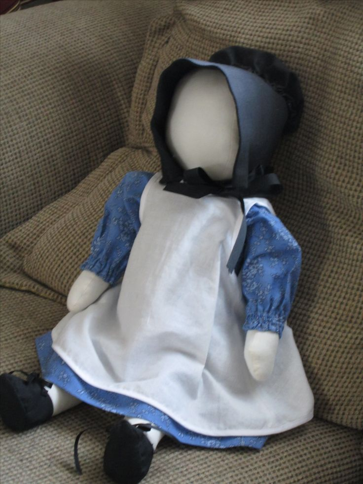 This Greenbrier Amish doll pattern is work but worth the effort. I've made 2 and they are wonderful gifts.