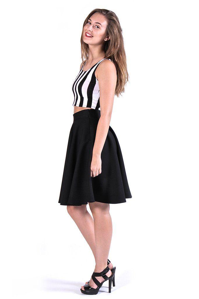Black Circle Skirt                                                                                                                                                                                 More