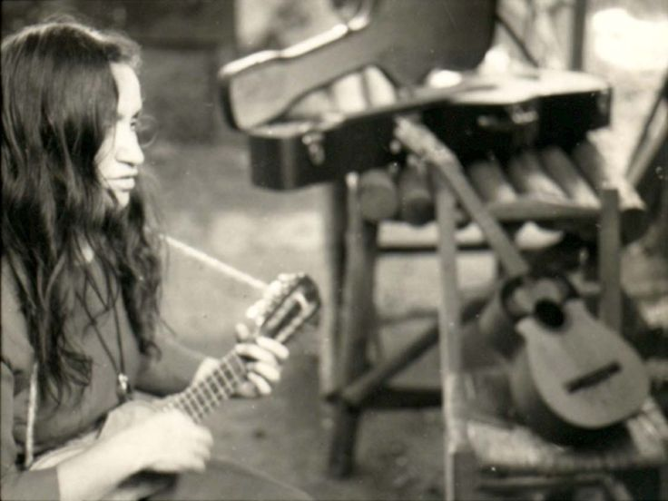 Violeta Parra. En la Carpa de La Reina, 1965.