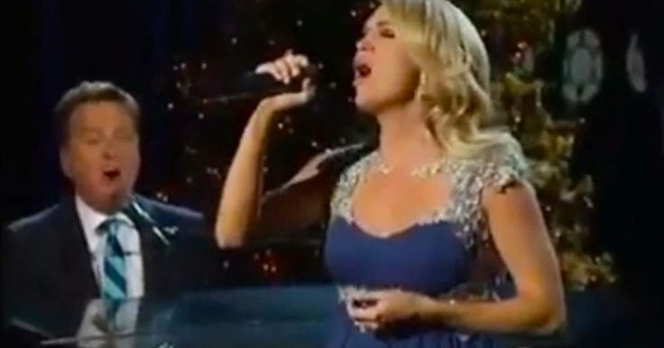 Carrie Underwood And Michael W. Smith Perform Jaw-Dropping 'All Is Well' Duet