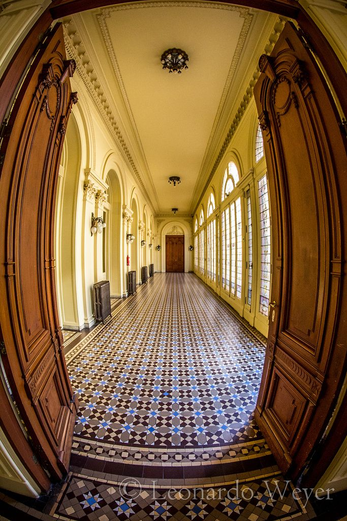 Pasillo interno de la Casa de Gobierno de la República Argentina (La Rosada)…