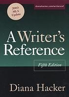 A Writer's Reference, Fifth Edition Manual To Write Term Papers, Essays, A Thesis, Covers Citation Styles For Undergrad & Graduate Students. Covers, MLA, APA, CMS Papers, Grammar. Word Choice, Sentence Style.
