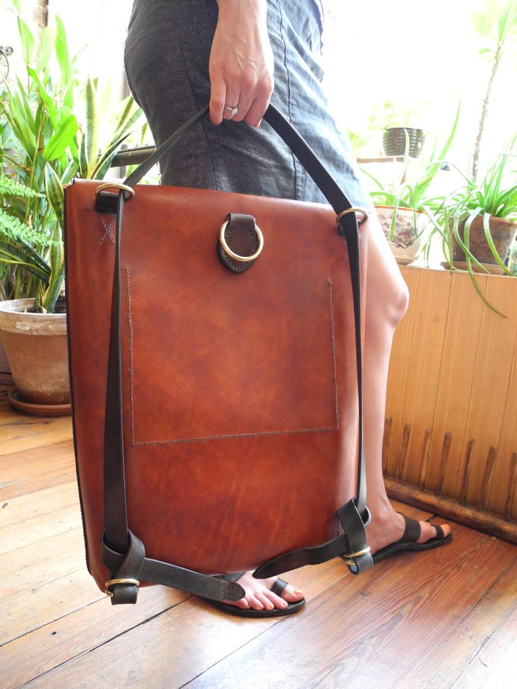 Leather Accent Tag - VENUS SEPIA 11 by VIDA VIDA Yg6IGl4LB0