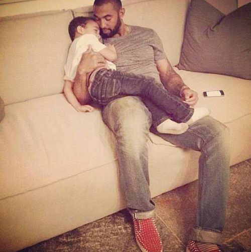 Matt Kemp Spends Quality Son Time