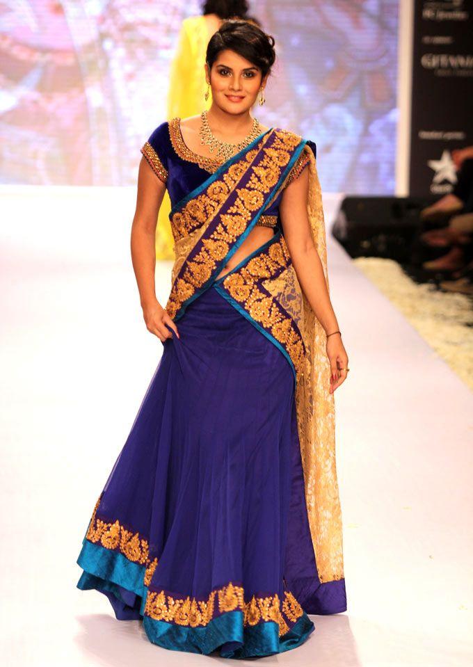 Shamin Mannan at the fourth edition of India International Jewellery Week. #Bollywood #Fashion