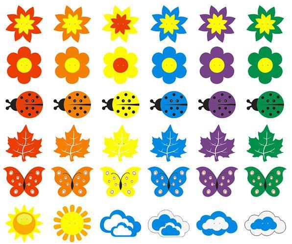 Оформление рисунков в детском саду
