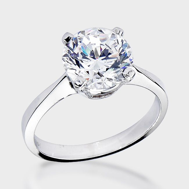 138 best Round Cut Engagement Rings Under 1000 images on Pinterest