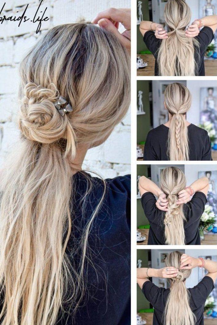 Frisuren Lange Haare Frisuren Mittellanges Haar Frisuren Anleitung Einfach Frisuren Anleitung In 2020 Easy Hairstyles Medium Length Hair Styles Medium Hair Styles