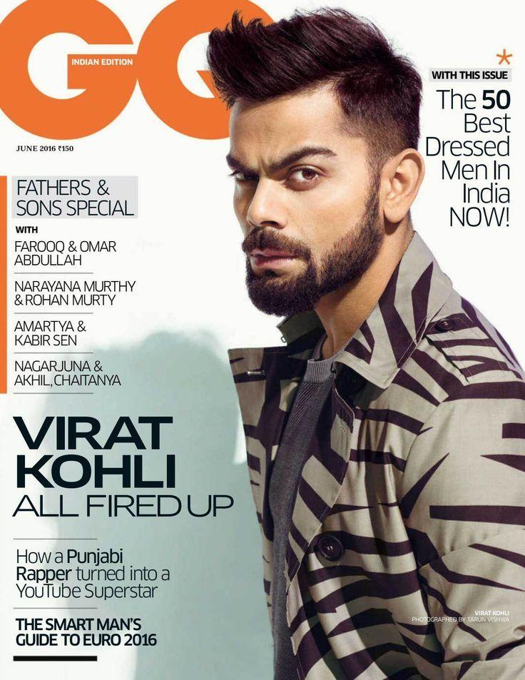 Virat Kohli para GQ India Junio 2016 por Tarun Vishwa