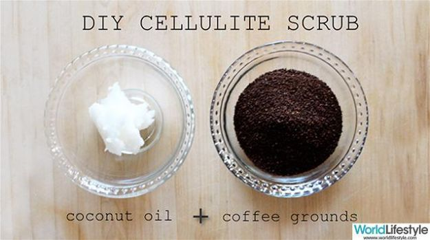 Coconut Oil And Coffee Scrub | How To Get Rid Of Cellulite Try Tcoffeehese Homemade Body Scrubs