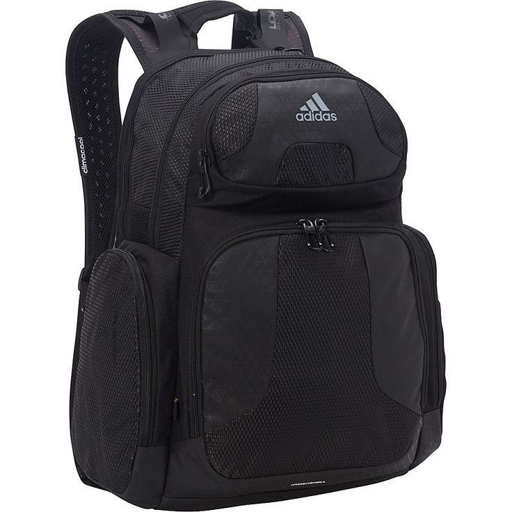 Image of adidas Climacool Strength Pack Black - adidas School & Day Hiking Backpacks