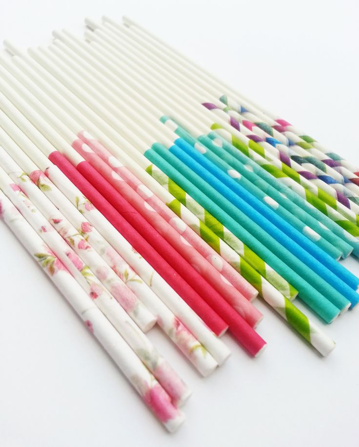 So Easy and Cute ! DIY Custom Popsicle, Cake Pop, or lollipop Sticks l